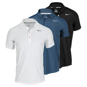 NIKE MEN`S ADVANTAGE UV TENNIS POLO