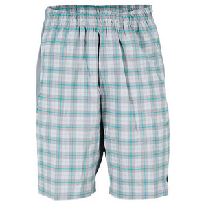 NIKE MEN`S GLADIATOR 10 IN PLAID TENNIS SHORT
