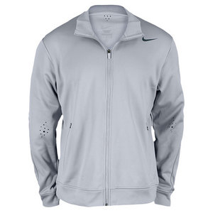 NIKE Men`s Premier RF Knit Tennis Jacket Grey