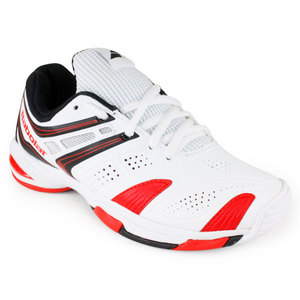 BABOLAT JUNIORS V PRO 2 TENNIS SHOES WHITE/RED