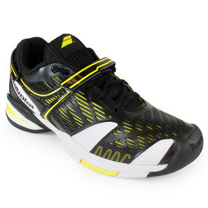 BABOLAT JUNIORS PROPULSE 4 TENNIS SHOES BLACK/YL