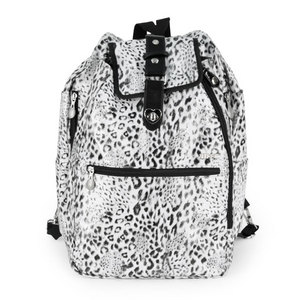 LIFE IS TENNIS ARCTIC LEOPARD COOLJET TENNIS BAG