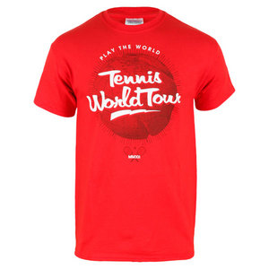 TENNIS EXPRESS TENNIS WORLD TOUR TEE RED