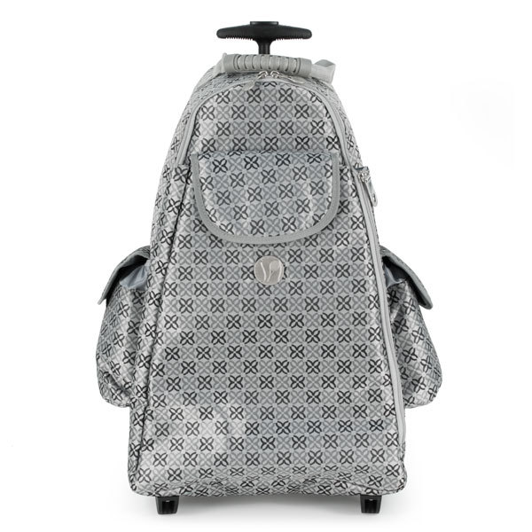 Life Is Tennis Excalibur Tennis Trolley Bag