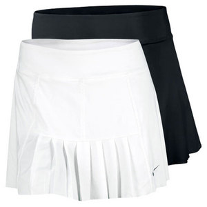NIKE WOMENS PLEATED KNIT TENNIS SKIRT