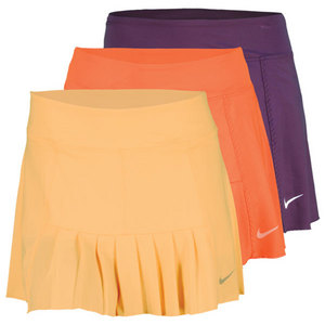 NIKE Women`s Pleated Knit Tennis Skirt