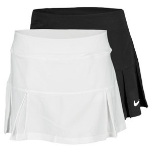 NIKE WOMENS FOUR PLEATED KNIT 13 IN SKIRT