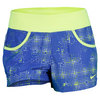 NIKE Women`s Victory Printed Tennis Short Violet Force/Volt