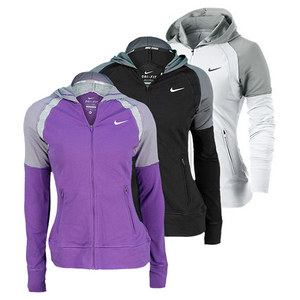 NIKE Women`s French Terry Tennis Hoody