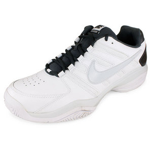 NIKE MENS AIR SERVE RETURN SHOES WHITE/ANTHRA