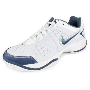 NIKE MENS CITY COURT VII SHOES PLATINUM/WH/BL