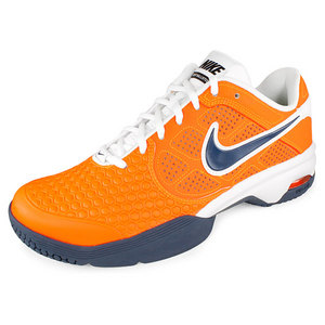 NIKE MENS AIR COURTBALLISTEC 4.1 SHOES OR/WH