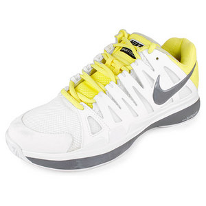 NIKE Women`s Zoom Vapor 9 Tour Tennis Shoes White/