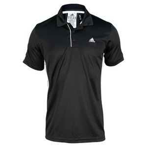 adidas MENS TS GALAXY POLO BLACK/WHITE