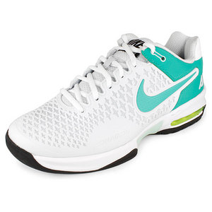 NIKE WOMENS AIR MAX CAGE SHOES PLAT/FIBER