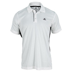 adidas MENS TS GALAXY POLO WHITE/BLACK