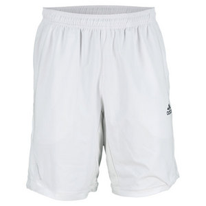 adidas MENS ADIPOWER BARRICADE TENNIS SHORT WHT