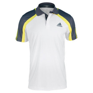 adidas MENS ADIPOWER BARRICADE TRAD TENNIS POLO