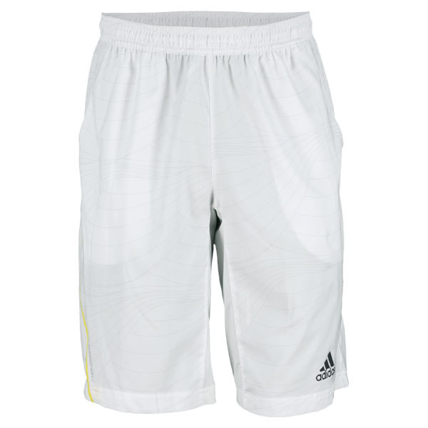 Men's Adizero Bermuda 10.5in Tennis Short White