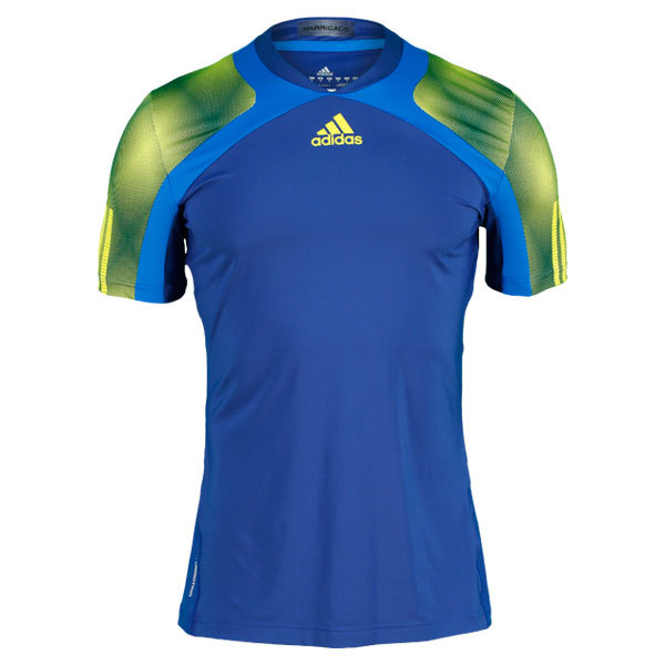 Men's Adipower Barricade Andy Murray Semi Fitted Tennis Tee (Xs Only)