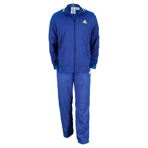 adidas MENS ADIPOWER BARRI WARM UP PANT DK BLUE