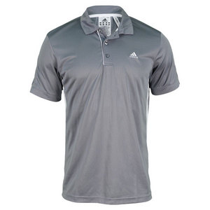 adidas MENS TS GALAXY POLO TECH GREY/WHITE