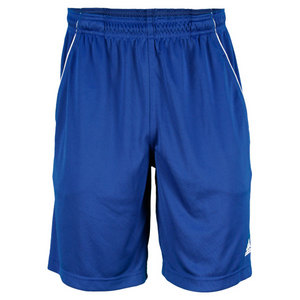 adidas MENS TS BERMUDA SHORT DARK BLUE/WHITE