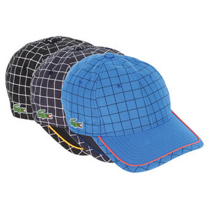 LACOSTE MENS GREEN CROC POLY ANDY TENNIS CAP