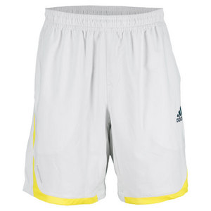 adidas MENS ADIPOWER BARRICADE SHORT WH/YL
