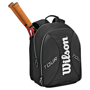 WILSON TOUR TENNIS BACKPACK BLACK/SILVER