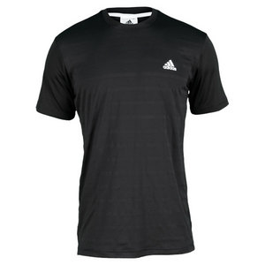 adidas MENS TENNIS SEQUENCIALS CREW NECK BLACK
