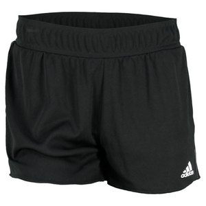adidas WOMEN TS CORE 12.6 INCH SHORT BLACK