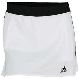 adidas WOMENS TS ICON 12.6 INCH SKORT WHITE