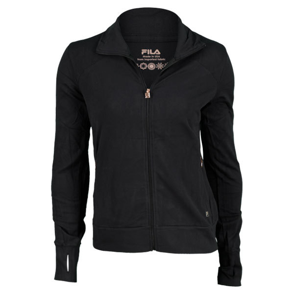 Women's Supplex Fabric Jacket Black