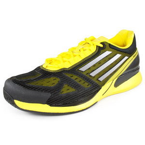 adidas Mens Adizero CC Feather II Black/Yellow