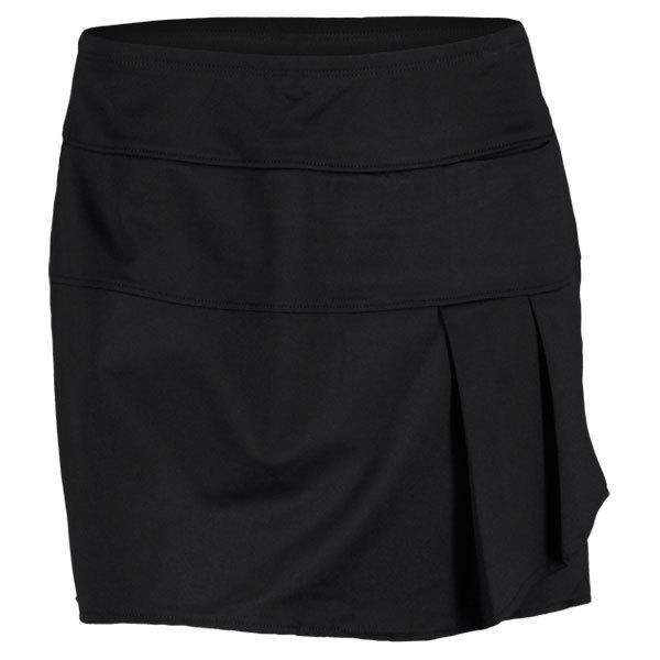 Women's Drape Tennis Skort Black