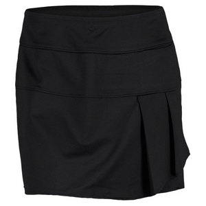 JOFIT WOMENS DRAPE TENNIS SKORT BLACK