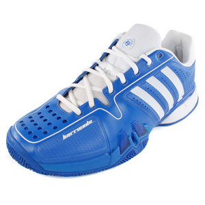 adidas MENS ADIPOWER BARRICADE 7.0 CLAY SHOES
