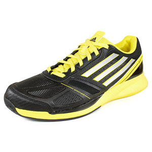 adidas MENS ADIZERO ACE II TENNIS SHOES BLK/YEL