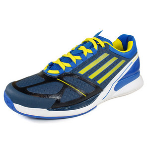 adidas Men`s Adizero Feather II Tennis Shoes Blue/