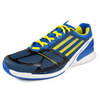 ADIDAS Men`s Adizero Feather II Tennis Shoes Blue/Yellow