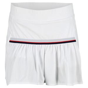 adidas WOMENS TS CORE 12.6 INCH SKORT WHITE