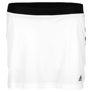 adidas GIRLS RESPONSE TENNIS SKORT WHITE/BLACK