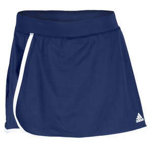 adidas WOMENS TS GALAXY SKORT 3 COLLEGIATE NAVY