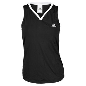 adidas WOMENS SEQUENCIALS GALAXY TANK BLACK/WH