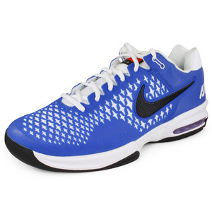 NIKE UNISEX AIR MAX CAGE TEAM SHOES ROYAL/WH