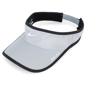 NIKE MEN`S FEATHERLIGHT VISOR STADIUM GREY