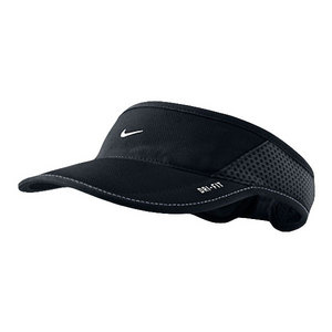 NIKE DAYBREAK TENNIS VISOR BLACK/WHITE