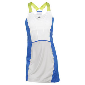 adidas WOMENS STELLA BARR MIRACLE DRESS BL/WH