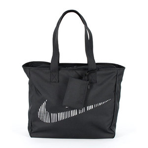 NIKE GRAPHIC PLAY TOTE BLACK/WHITE